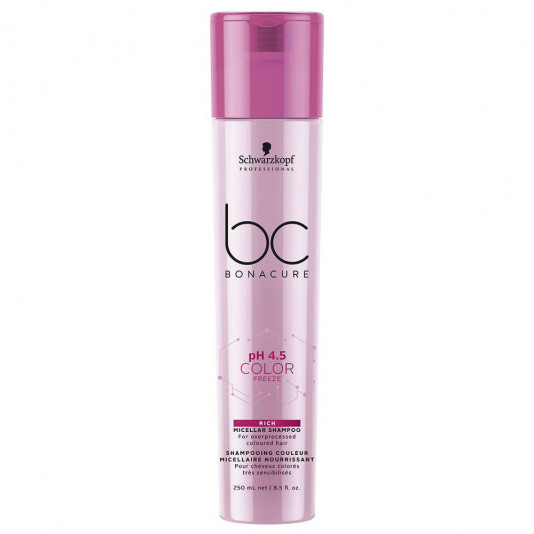Schwarzkopf Bonacure Color Freeze Rich Micellar Shampoo 250 ml