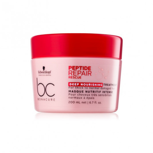Schwarzkopf BC Bonacure Peptide Repair Rescue Deep Nourishing Máscara 200 ml