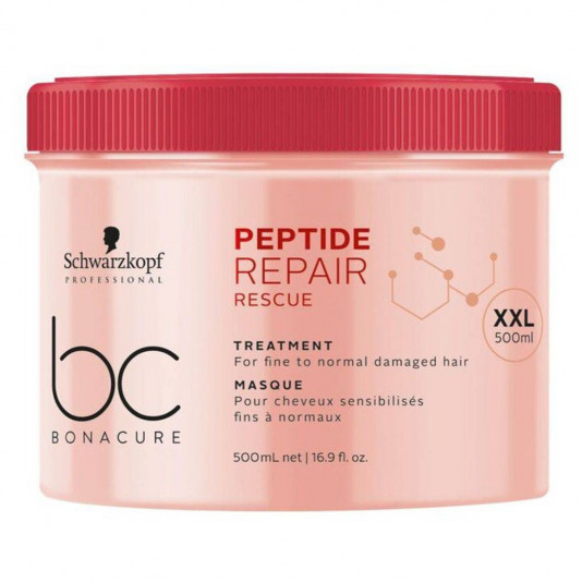 Schwarzkopf Bc Repair Rescue Treatment Masque - Máscara 500 Ml