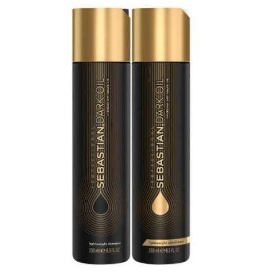 Kit Sebastian Dark Oil Shampoo 250ml + Condicionador 250ml