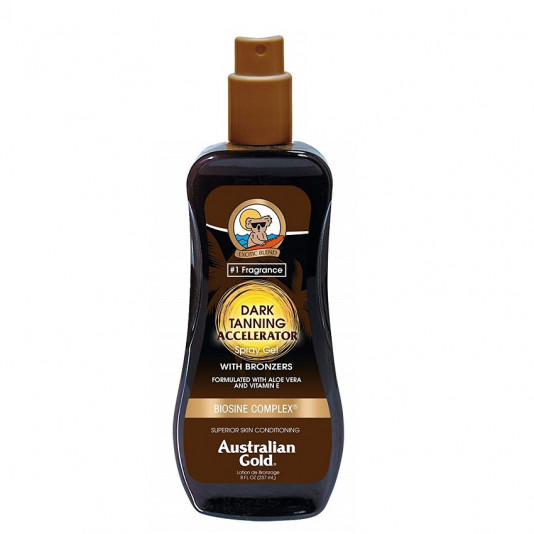 Australian Gold Dark Tanning Accelerator With Bronzers 237 ml