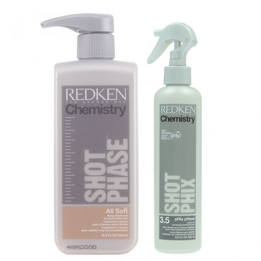 Redken All Soft Chemistry Kit pH 3.5 - 2 produtos