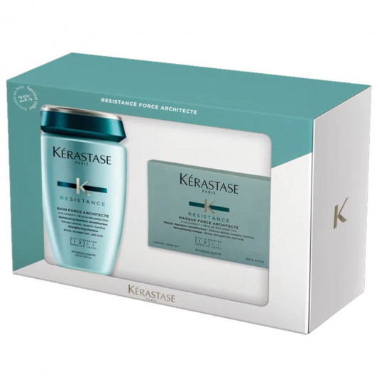 Kerastase Resistance Force Architecte Shampoo 250ml + Máscara 200g