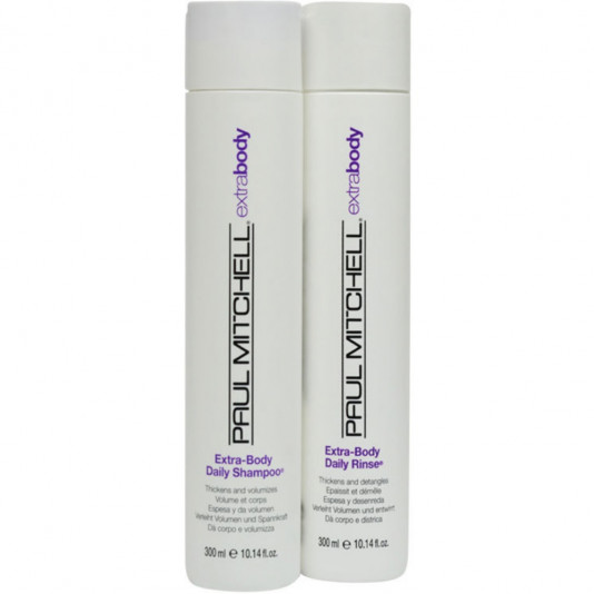 Paul Mitchell Extra Body Kit Duo (Shampoo 30 ml e Condicionador 300ml)