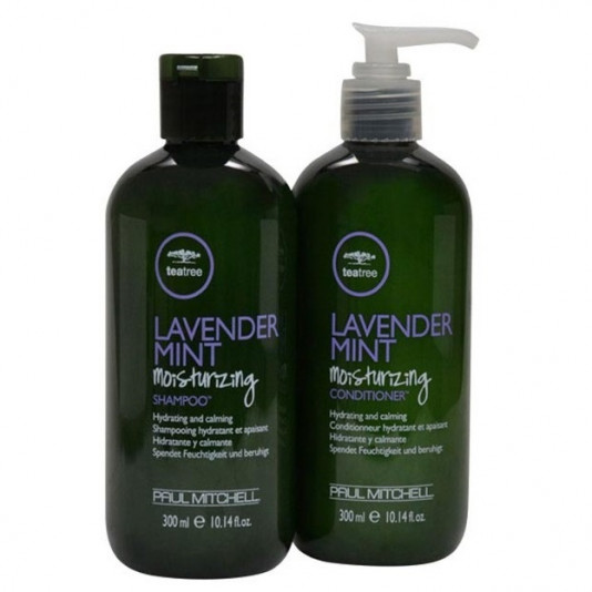 Paul Mitchell Tea Tree Lavender Mint Moisturizing Kit Hidratante (2 Produtos)