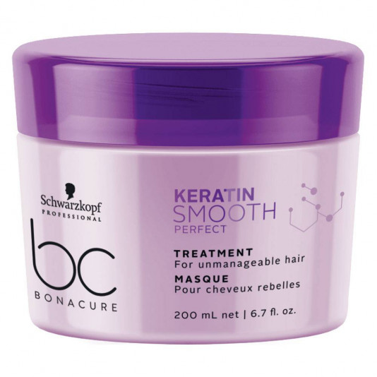 Schwarzkopf Bonacure Keratin Smooth Perfect Máscara 200 ml