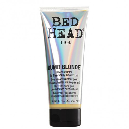 Tigi Bed Head Dumb Blonde Condicionador Reconstrutor 200 ml