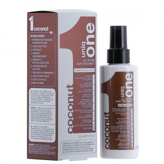 Uniq One All In One Hair Treatment Coconut Leave in 150 ml