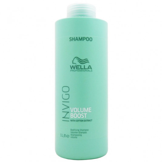 Wella Professionals Invigo Volume Boost Shampoo 1 Litro