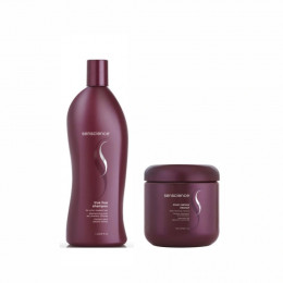 Kit Shampoo E Máscara Senscience True Hue (1000ml E 500ml)