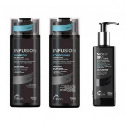 Truss Infusion Kit Shampoo, Condicionador e Night SPA