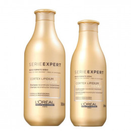 Loreal Absolut Repair Cortex Lipidium Kit Shampoo 300ml + Condicionador 200ml