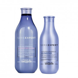 Kit Loreal Blondifier Gloss Shampoo 300ml + Condicionador 200ml