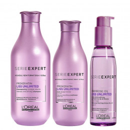 Loeal Liss Unlimited Shampoo 300ml, Condicionador 200ml e Sérum 125ml