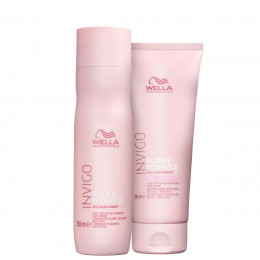 Kit Wella Professionals Invigo Blonde Recharge Shampoo 250 ml e Condicionador 200 ml