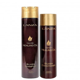 L'anza Healing Oil Keratin Kit Duo (Shampoo 300 ml e Condicionador 250 ml)