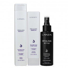 L'anza Healing Smooth Kit Thermal (3 Produtos)