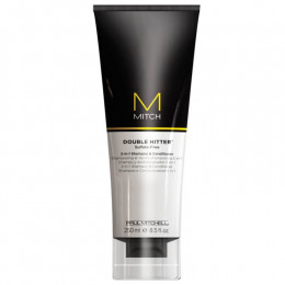 Paul Mitchell Mitch Double Hitter 2 em 1 Shampoo e Condicionador 250 ml