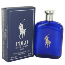 Ralph Lauren Polo Blue Masculino Eau de Toilette 200 ml