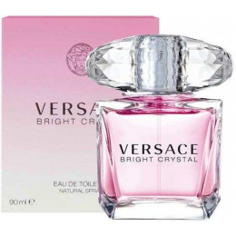 Versace Bright Crystal Feminino Eau de Toilette 90 ml