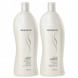 Kit Senscience Volume Shampoo 1000ml e Condicionador 1000ml