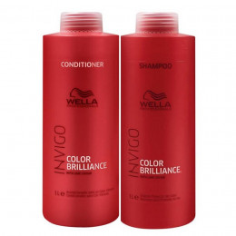 Wella Invigo Color Brilliance Kit Shampoo 1L e Condicionador 1L