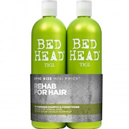 Tigi Bed Head Urban Antidotes Re-Energize Kit Shampoo 750 ml e Condicionador 750 ml)